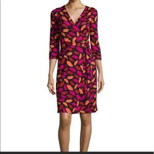 Diane Vonfurstenburg wrap dress LIPS